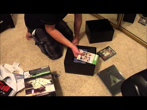 Grand Theft Auto V Gamestop Collector's Edition Unboxing