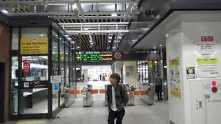 新函館北斗駅の北海道新幹線改札口の風景