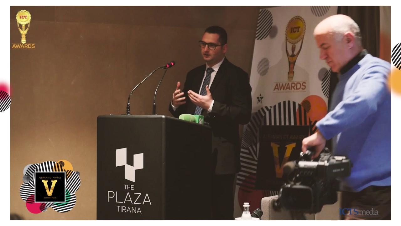"""Résultat de recherche d'images pour """"ICT Awards albania ardian"""""""