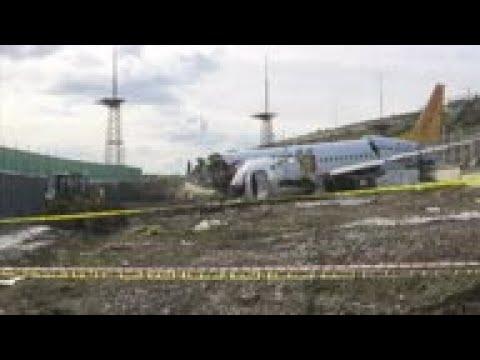 Investigators probe Turkey plane crash