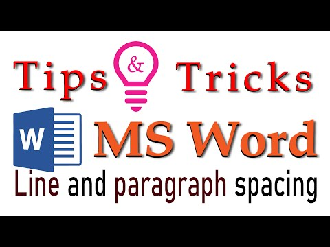 #MakeBangla, #Sadequl Islam, Bangla Tutorial.Tips And Tricks . Line And Paragrahp Spacing .Ms Word