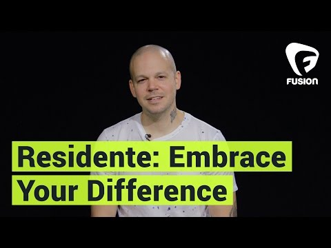 Residente: Wants You to Embrace Your Difference