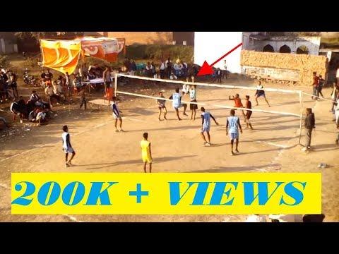 Volleyball match India v/s pakistan