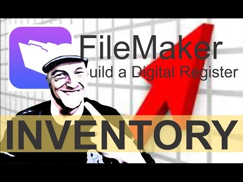 Filemaker Inventory Complete - 720p HD Make Layouts