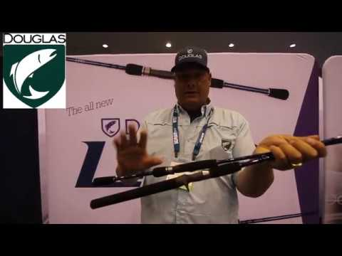 Rod designer Fred Contaoi talking about the new Douglas Outdoors LRS casting and spinning rods