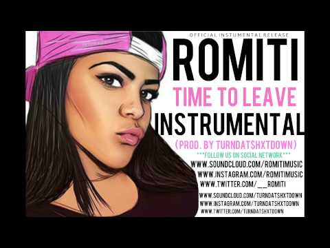 Toni Romiti - Time To Leave Instrumental (Prod. By TurnDat$hxtDown)