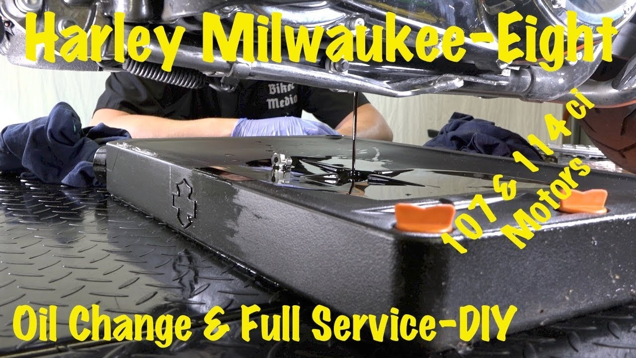 Harley milwaukee eight routine oil change service  safety inspection diy complete guide also rh youtube