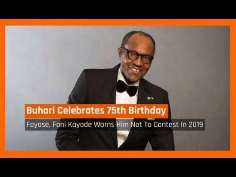 Nigeria News Today: President Buhari Celebrates 75th Birthday Today (17/12/2017)