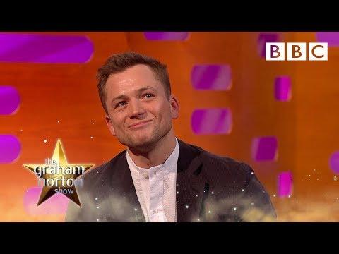 Why Elton John called Taron Egerton a little sh*t - BBC The Graham Norton Show