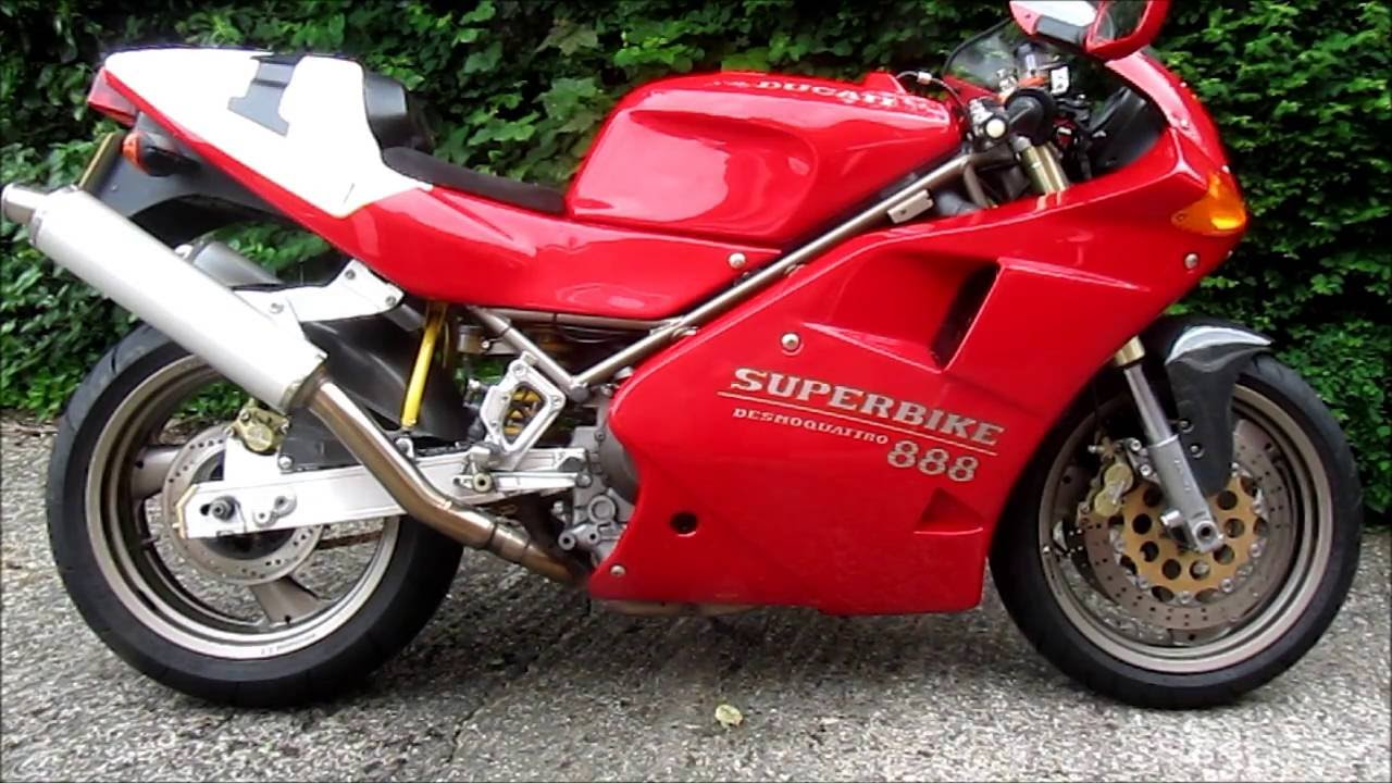 Living with a Ducati 888 - Part1 - YouTube