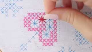 How to embroider a Cross Stitch