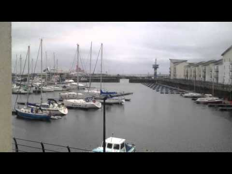 Ardrossan Harbour time lapse