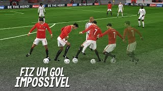 I made a goal to Cristiano Ronaldo online in Dls 2018