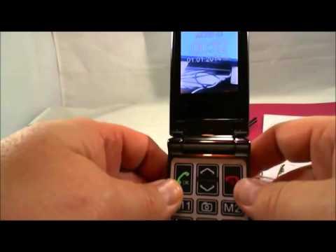 Téléphone portable grosses touches à clapet, Clap Rock