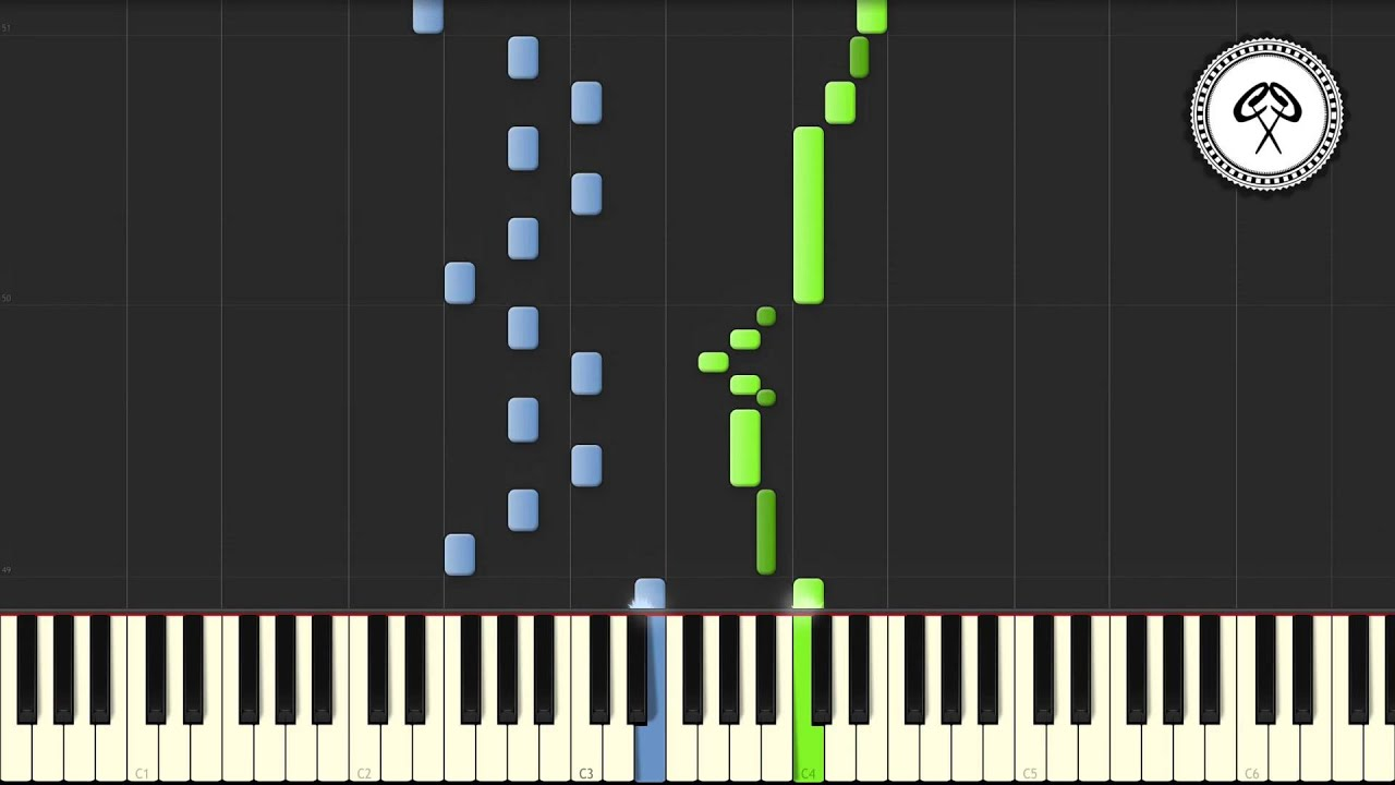 Ludwig van Beethoven - Für Elise Piano Tutorial & Midi