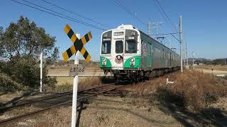踏切の風景 豊橋鉄道渥美線 ~変電所の横にある第四種踏切~ thumbnail