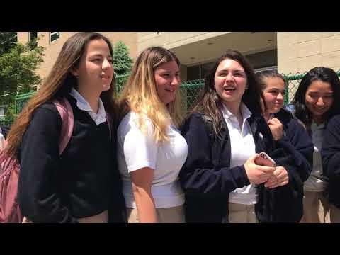 Hugs, tears mark last high school classes at St. John Villa