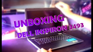 UNBOXING DELL INSPIRON 3493