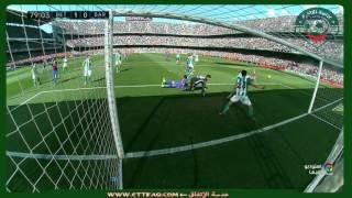 هدف برشلونة غير المحتسب ضد ريال بيتيس - الدوري الإسباني2016/2017