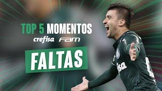 TOP 5 GOLS DE FALTA - MOMENTOS CREFISA/FAM