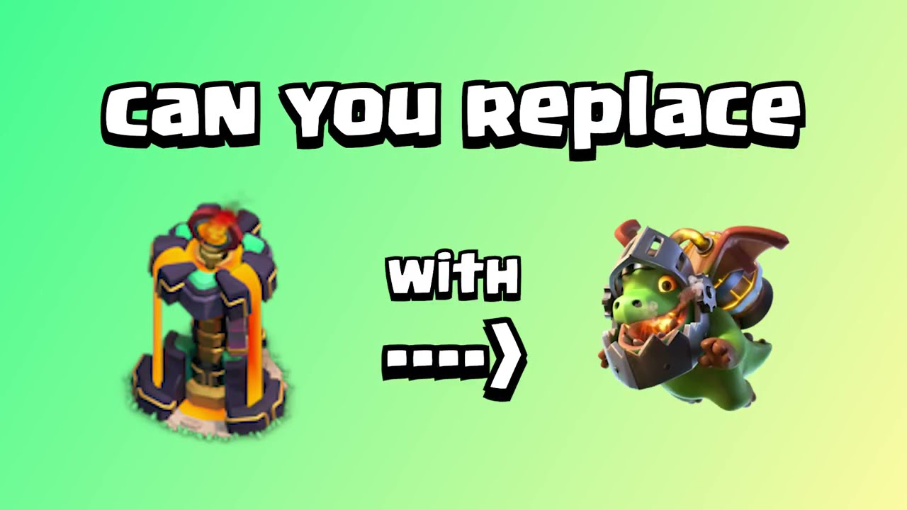 Can You Replace Inferno Tower with Inferno Dragon? | Clash of Clans