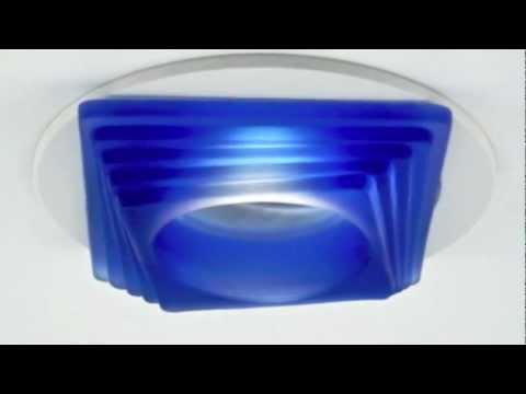 """3"""" & 4"""" Recessed Lighting Decorative Glass Trims by Total Recessed Lighting"""