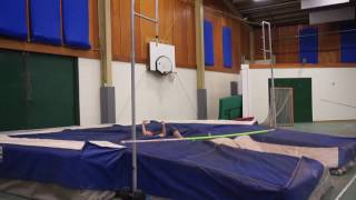 Pole Vault with LoJo's Team Vault Assault 2k16: Cristina pt 1 (Dec 2016)