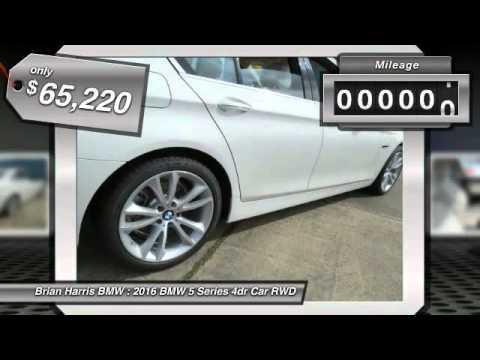2016 BMW 5 Series Baton Rouge LA 16B296