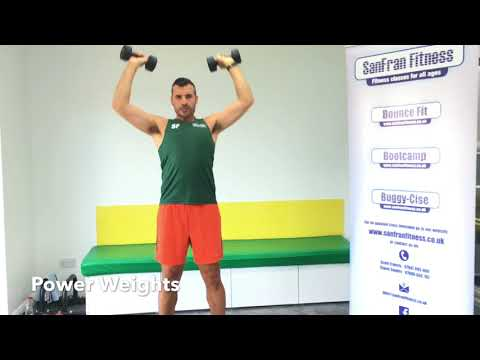 20 Minute Dumbbell Workout (Power Weights) from SanFran Fitness