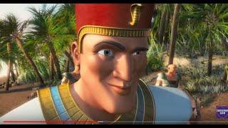 10 Commandments :: Land of Milk & Honey ...Bible animated full movie ..HD