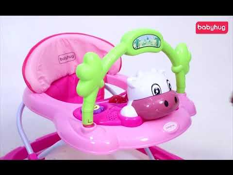 Babyhug Tiny Trotter Musical Baby Walker