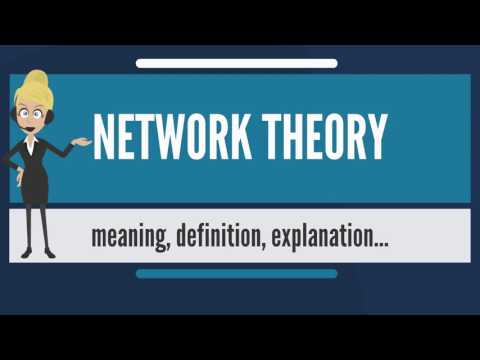 What is NETWORK THEORY? What does NETWORK THEORY mean? NETWORK THEORY meaning & explanation