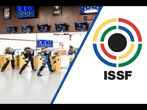 10m Air Rifle Women Final - 2018 ISSF World Cup Stage 3 in Fort Benning (USA)