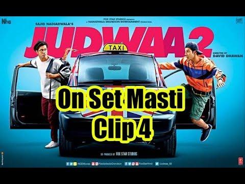 Varun Dhawan Bike Riding in Mumbai || Judwaa 2 set || Jacqueline Fernandez || Taapsee Pannu 🚲🚲🚲