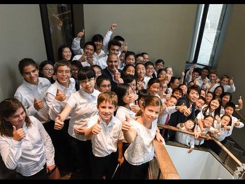 L'initiative 101 Pianists de Lang Lang fait vivre l'expérience d'une vie à des jeunes musiciens