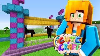 horsey bouncy castle minecraft cutecraft ep20