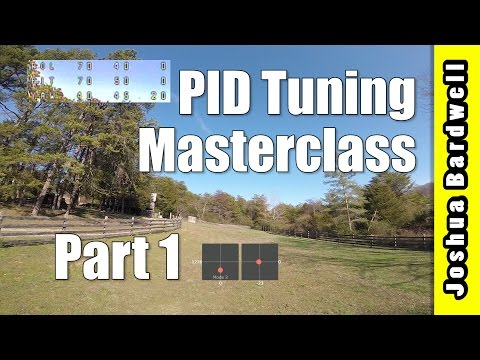 PID Tuning Masterclass - Part 1 - P Term From Low To High