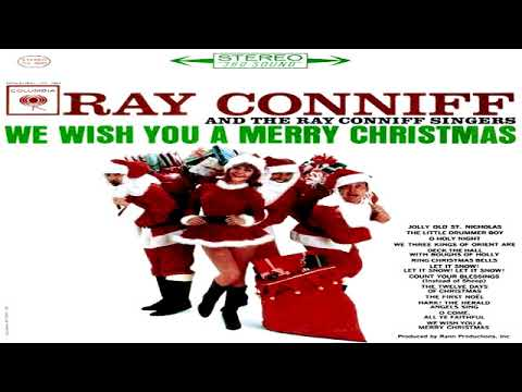 Ray Conniff - We Wish You A Merry Christmas (1996)  (High Quality - Remastered)  GMB