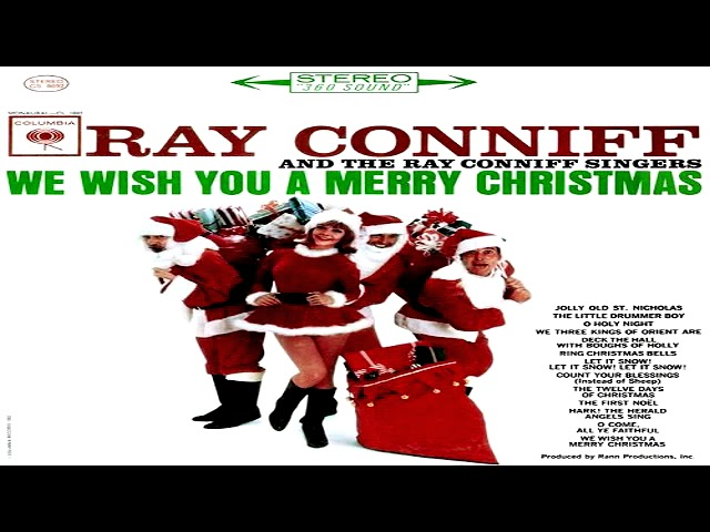 we wish you a merry christmas ray conniff shazam - Ray Conniff Christmas
