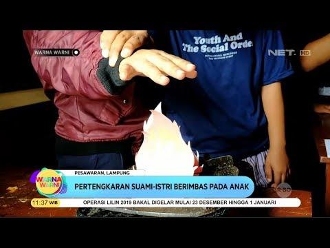 Ibu Tiri Tega Bakar Tangan Anaknya Diatas Kompor - Warna Warni