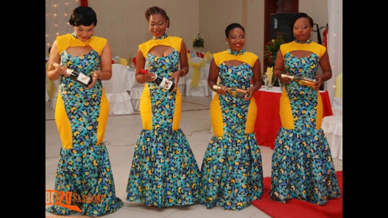 African Nigerian Women Fashion Styles Aso Ebi Ankara Maxi Gowns Skirts Short Gown Etc