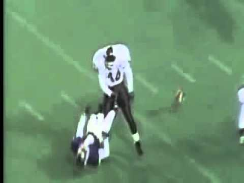 THE HARDEST FOOTBALL HIT OF ALL TIME!!