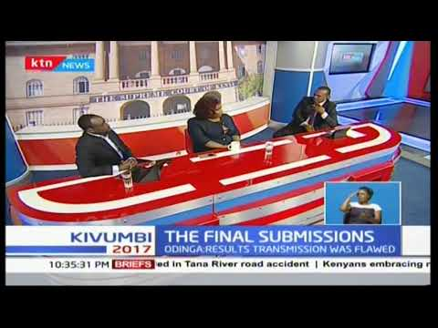 NASA's legal team make final submissions in presidential petition at Supreme Court of Kenya