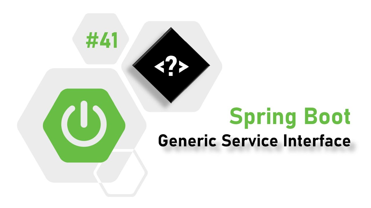 41 - Spring Boot : How to create Generic Service Interface? | Almighty Java