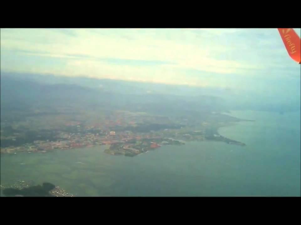 FireFly FY501: Pemandangan Kota Kinabalu dari udara!