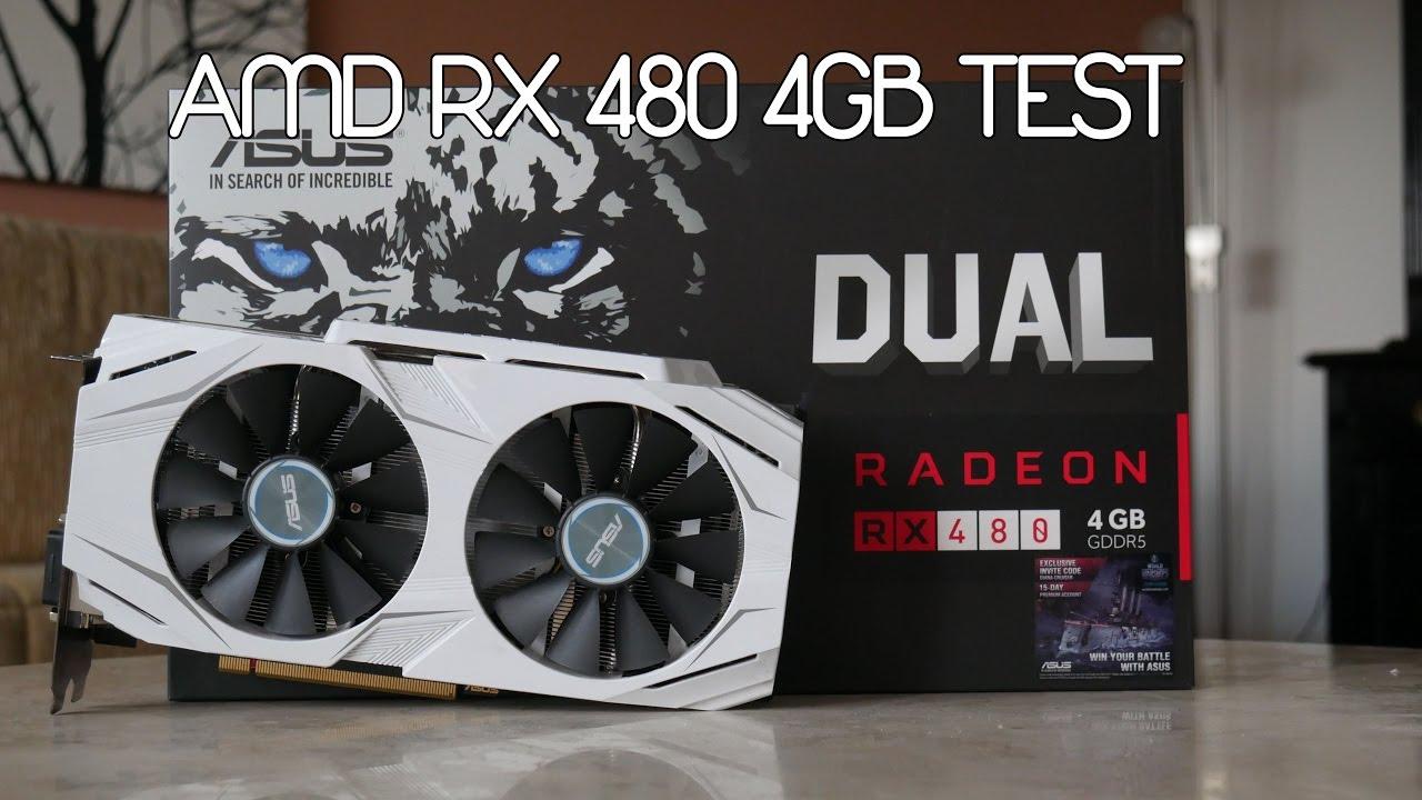 Asus Dual AMD RX 480 4GB Test