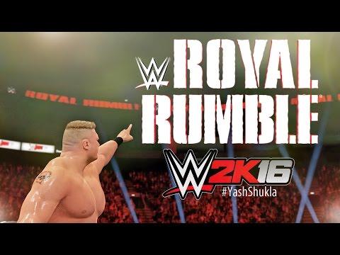 WWE 2K16 - OMG!!! GOLDBERG IS BACK | 30 MAN ROYAL RUMBLE FULL GAMEPLAY MATCH