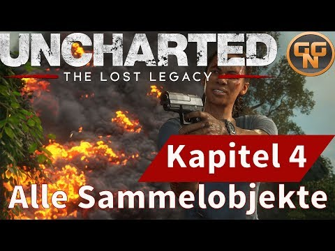 Uncharted The Lost Legacy Kapitel 4 - Alle Sammelobjekte (Sc