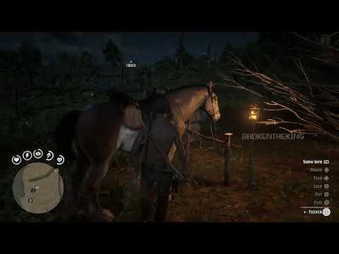 how to unlock (BRUSH) on your horse RED DEAD REDEMPTION 2 ONLINE BETA