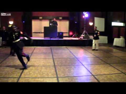 Dance off at US Marine Corps Ball